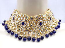 Indian Asian Bollywood Bridal Wedding Ethnic Jewellery Kundan Patti Necklace Set