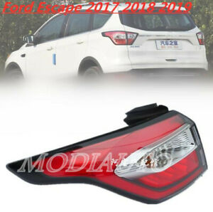 For Ford Escape Kuga 2017-2019 LED Rear Left Side Outer Tail Lamp Taillight 1PC