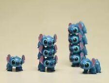 1 PC Disney Stitch MINI Action Figures PVC Collection Set Decor Ornament