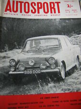 Autosport February 7th 1964 *Teretonga Trophy Race & Touring Car Racing Survey*