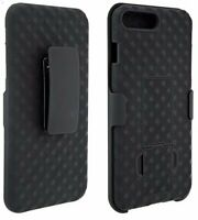 Verizon OEM Shell Holster Combo Case w/ Clip For iPhone 8 Plus & iPhone 7 Plus