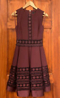 Ted Baker NEW Berry Lace Wedding Cocktail Occasion Prom Dress Size 1-5 & UK 8-16