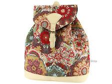 Signare Ladies Womens Tapestry Rucksack / Backpack / Bag In Kaleidoscope Design