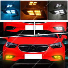 For Buick Encore 2016-2019 LED Daytime Running Lamp Fog Light k Assy 3 Colors