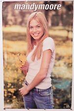 "Mandy Moore Poster vintage 22.25"" X 34.50"" Nos (b39)"