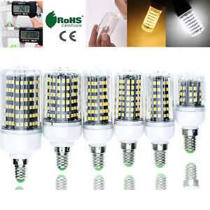 LED Corn Light Bulbs E12 E14 E27 B22 2835 SMD 30W - 100W Equivalent Lamp RK189
