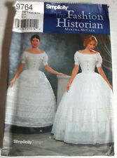 Simplicity UNCUT Pattern 9764 Historical Petticoat Costume 6 8 10 12
