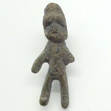 Bronze Amulet Warrior 28mm. pendant 600-100BC. Roman / Bosporus / Scythian
