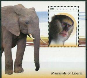 Liberia - 2015 - MAMMALS OF LIBERIA - Souvenir Sheet - MNH