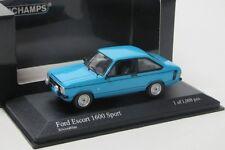 Ford Escort II 1600 Sport (1975) azul/Minichamps 1:43