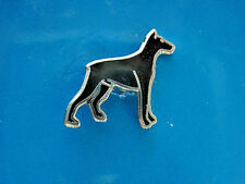 Doberman Pinscher - hat pin , lapel pin , tie tac , hatpin Gift Boxed (S)