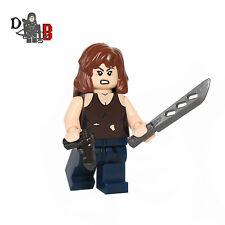 The Walking Dead Maggie Greene Minifigure. Made using LEGO & Custom parts.