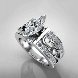 Men Vintage Rings Gothics Punk Men Wedding Rings Stainless Steel Fashion Rings
