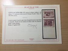 Vatican Stamp Variety