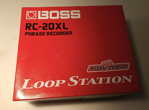 BOSS Phrase Recorder RC-20XL Loop Station Twin-Pedal in OVP + Sound CD (Looper)