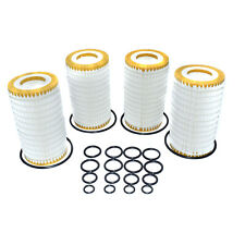 4 Sets Oil Filter & Gasket For Benz R350 S550 E320 E550 ML550 CLS550 1121840525