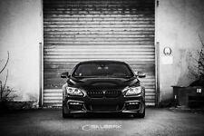 schwarze Nieren hochglänzend 6er BMW F06 Gran Coupé Frontgrill salberk 1006DL