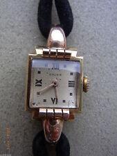 Nicht wasserbeständige Armbanduhren aus Massivgold mit 12-Stunden-Zifferblatt