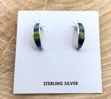 Native American Jewelry Earrings Turquoise Earrings Beautiful Handmade Signed