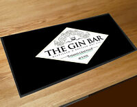 The Gin Bar runner label party bar Cocktail bars & Pubs counter mat