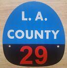 LA COUNTY 29 FIRE HELMET SHIELD