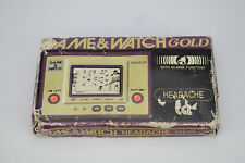 Nintendo Game & Watch Headache CN-07 Gold Series RARE UK CGL LCD Handheld and