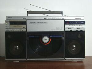 Sharp VZ 2500 E Boombox Ghettoblaster Vintage Radio Cassette Plattenspieler 80er