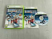 Winter Sports 2010 The Great Tournament für Xbox 360 in FULL WORKING ORDER