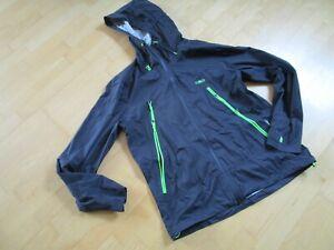 CMP Clima Protect regenjacke Jacke Gr.54 blau neuwertig Brustweite:57cm