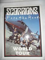 Scorpions Face the Heat World Tour Concert Program Tour Book Japan Programme