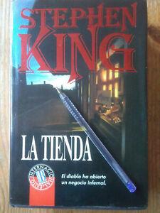 LIBRO Stephen King - La Tienda . TERROR SUSPENSE.Primera Edición .