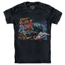 STREET FIGHTER II T-shirt 2 The World Warrior 1991 Arcade cartridge SNES