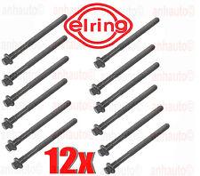 Elring Set 12 Cylinder Head Bolts Volvo 850 960 C70 S40 V40 S60 V70 S80  XC NEW