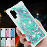 For Samsung Note10 Plus Soft Liquid Quicksand Rubber Shockproof TPU Case Cover