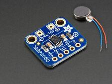 Adafruit DRV2605L Haptic Motor Controller & Vibrating Mini Motor Disc Arduino