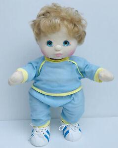 Vintage Pre-owned My Child Doll Mattel Inc 1985 (Baby Boy,Aqua Eyes)