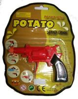 METAL DIECAST POTATO SPUD GUN TOY die cast boys play toys classic novelty new