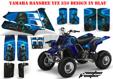 Amr racing décor Graphic Kit ATV yamaha le Hurleur yfz 350 zombie soldat B