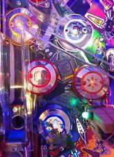 ADDAMS FAMILY TAF CHROME PINBALL POP BUMPER DECALS from METAL-MODS CHROME CAPS