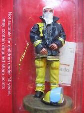 FIGURINE DEL PRADO POMPIER TENUE DE FEU SYDNEY AUSTRALIE 2003  FIRE FIGHTER