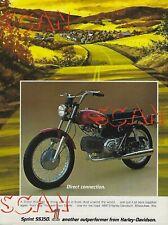 Sprint Harley-Davidson Motorcycle Repair Manuals