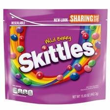 Skittles Wild Berry Candy Sharing Size 15.6 oz Bag