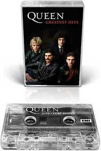 Queen - Greatest Hits (NEW CLEAR CASSETTE) 2021