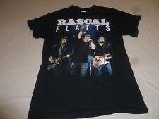 Rascal Flatts 2016 Tour Concert Shirt Mens Black Tee Music Rhythm & Roots