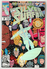 1992 THE SILVER SURFER #75 Marvel Comics COMIC 75th Anniversary Issue STAN LEE