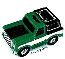 Micro Machine Chevy Blazer  Chevrolet Truck Sport Utility Green Truck Vehicle