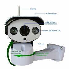 TELECAMERA ESTERNA IP CAMERA WIFI FULL HD 1080p WIRELESS LED IR LAN MOTORIZZATA