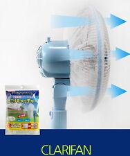Portable Fan Filter Anti-Fine Dust Dehumidifying Necessary Item Japan Patented