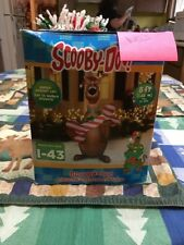 5ft Gemmy Airblown Inflatable Christmas Scooby Doo Holiday Outdoor Decoration