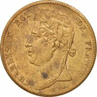 [#47279] FRENCH COLONIES, Charles X, 5 Centimes, 1825, Paris, Bronze, KM:10.1